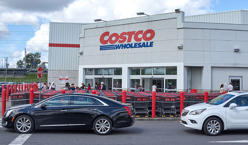 The outside of a Costco store - Absolunet eCommerce Trends